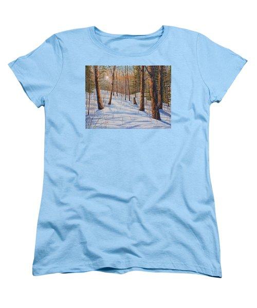 Winter Light Women's T-Shirt (Standard Cut)