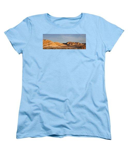 Women's T-Shirt (Standard Cut) featuring the photograph Ziebriski Point by Hugh Smith