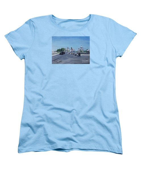 Family Cycling Tour Women's T-Shirt (Standard Cut)