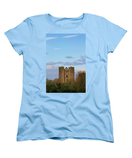 Dunsoghly Castle Women's T-Shirt (Standard Cut) by Martina Fagan