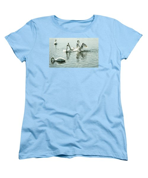 I Think He Means It..... This Time........ Women's T-Shirt (Standard Cut) by Martina Fagan