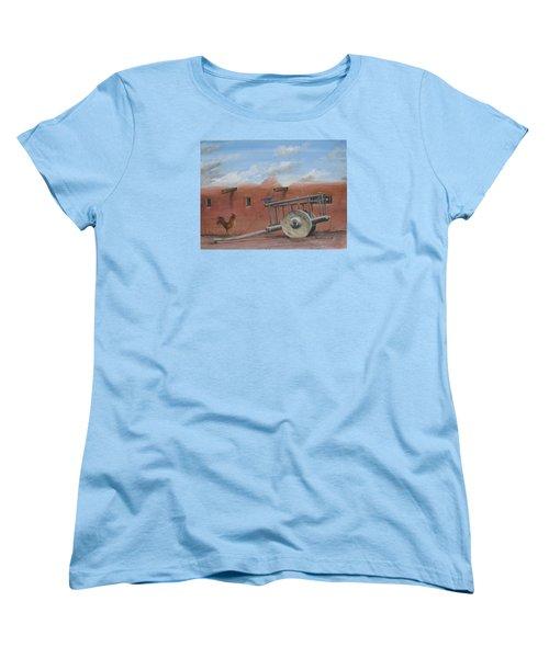 Old Spanish Cart  Women's T-Shirt (Standard Cut)