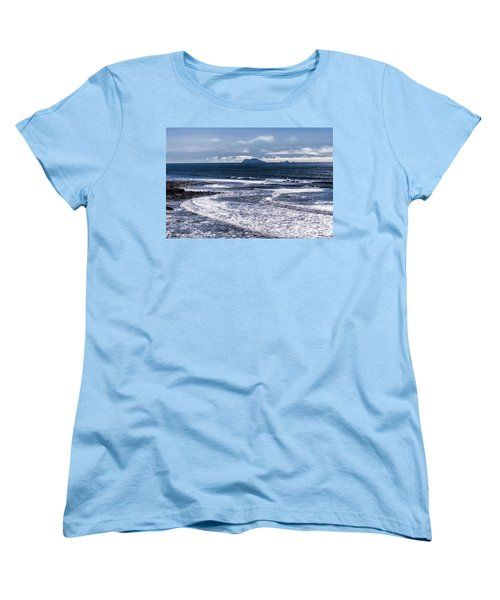 Women's T-Shirt (Standard Cut) featuring the photograph  Point Loma And Islos Los Coronados by Daniel Hebard