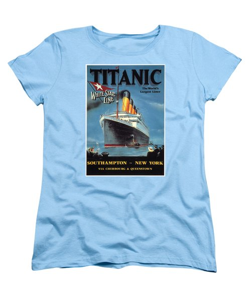 0065186 Women's T-Shirt (Standard Cut) by Titanic