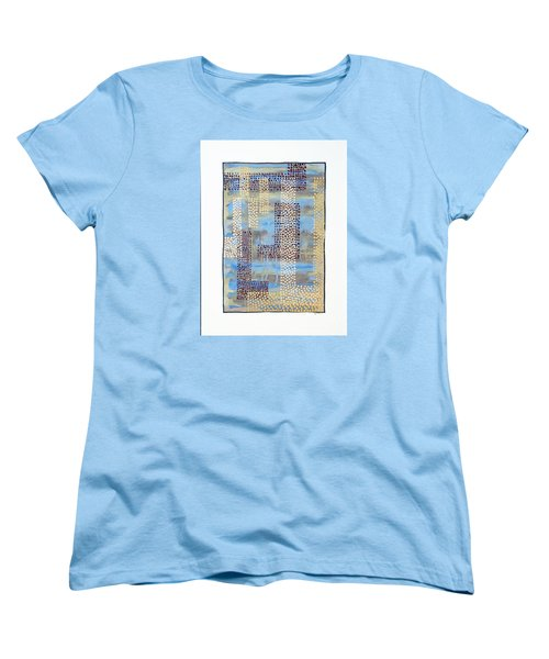 01334 Over Women's T-Shirt (Standard Cut) by AnneKarin Glass