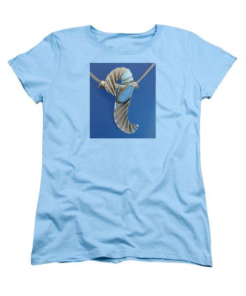 0468 Seahorse Women's T-Shirt (Standard Cut) by Dianne Brooks