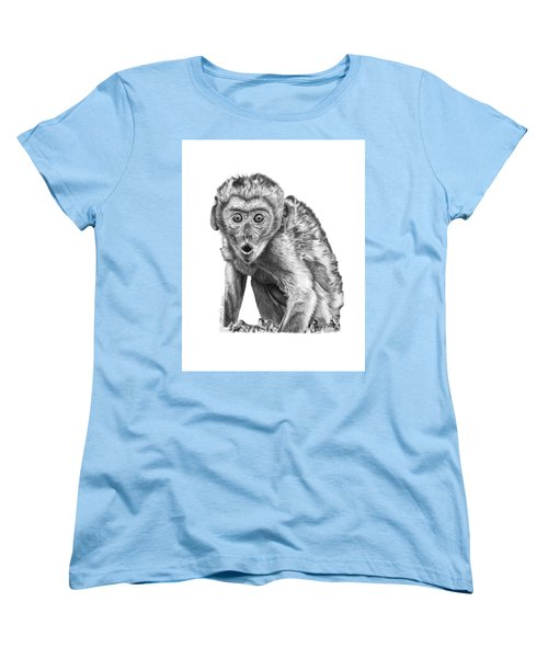 057 Madhula The Monkey Women's T-Shirt (Standard Cut) by Abbey Noelle