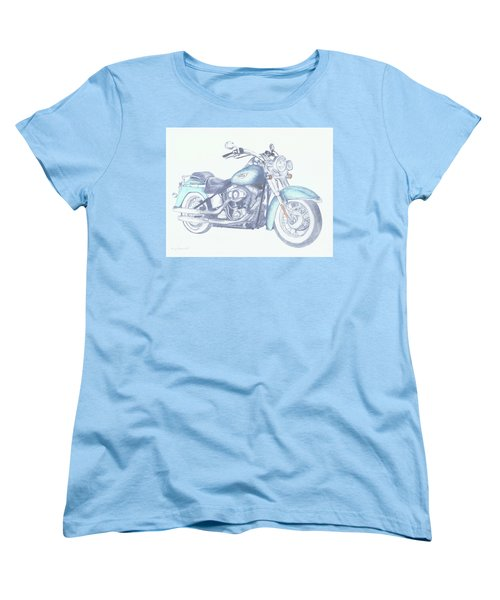2015 Softail Women's T-Shirt (Standard Cut) by Terry Frederick