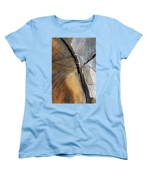 Women's T-Shirt (Standard Cut) featuring the photograph A Dead Tree by Dorin Adrian Berbier