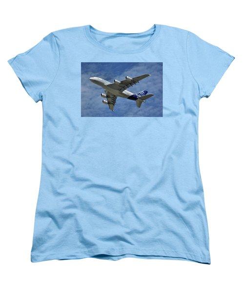 Airbus A380 Women's T-Shirt (Standard Cut) by Tim Beach