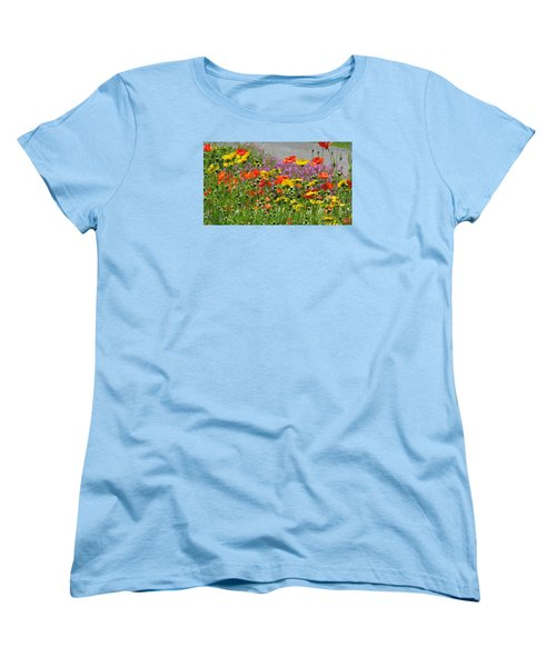 Along The Road Women's T-Shirt (Standard Cut) by Jeanette Oberholtzer