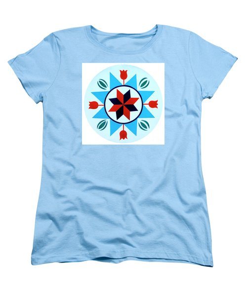 Women's T-Shirt (Standard Cut) featuring the photograph Amish Hex Design by Paul W Faust - Impressions of Light