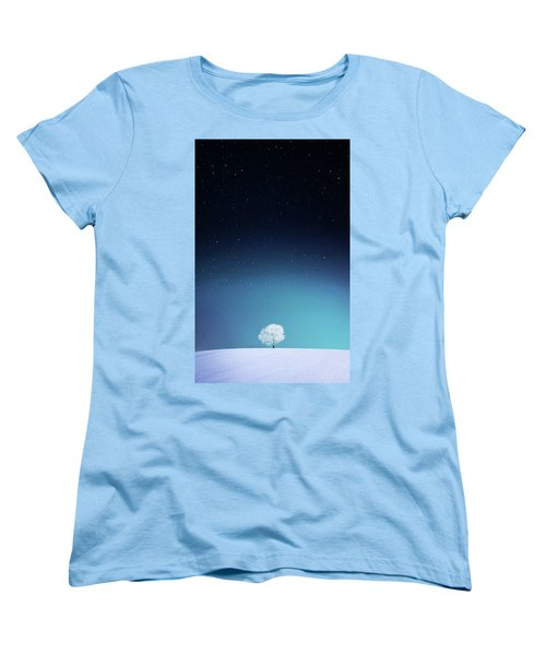 Apple Women's T-Shirt (Standard Cut) by Bess Hamiti