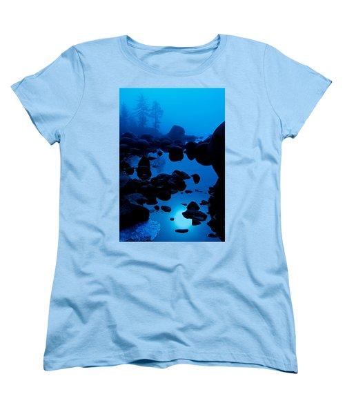 Arise From The Fog Women's T-Shirt (Standard Cut) by Sean Sarsfield
