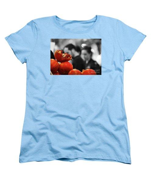 At The Market Women's T-Shirt (Standard Cut) by Arik Baltinester