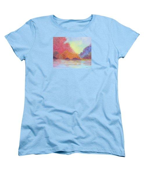 Autumn's Aura Women's T-Shirt (Standard Cut) by Stacey Zimmerman