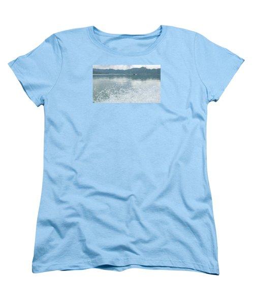 Bali River  Women's T-Shirt (Standard Cut) by Nora Boghossian