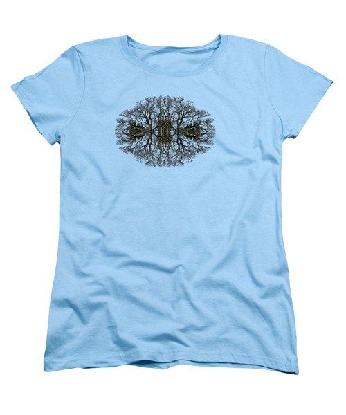 Bare Tree Women's T-Shirt (Standard Cut) by Debra and Dave Vanderlaan