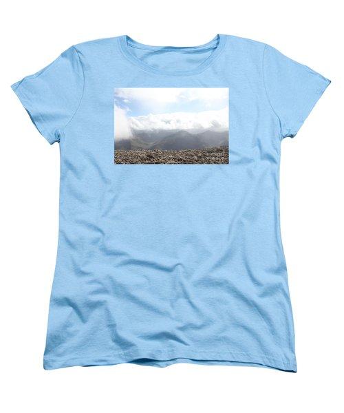 Ben Nevis  Women's T-Shirt (Standard Cut) by David Grant