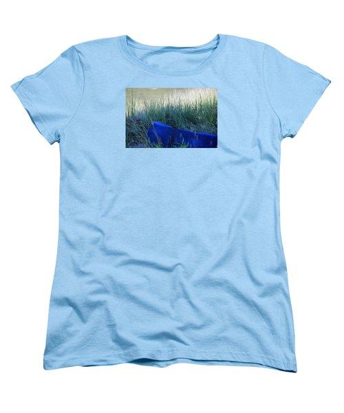 Blue Women's T-Shirt (Standard Cut)