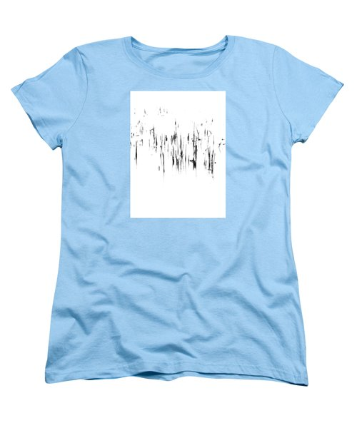 Brushstrokes Women's T-Shirt (Standard Cut) by Tim Good