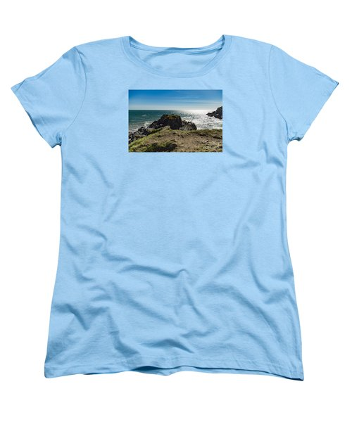 Cadgwith Cove Women's T-Shirt (Standard Cut) by Brian Roscorla