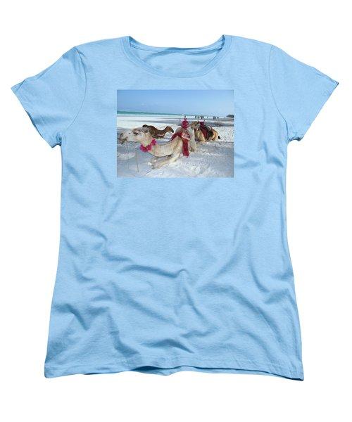 Camel On Beach Kenya Wedding4 Women's T-Shirt (Standard Fit)