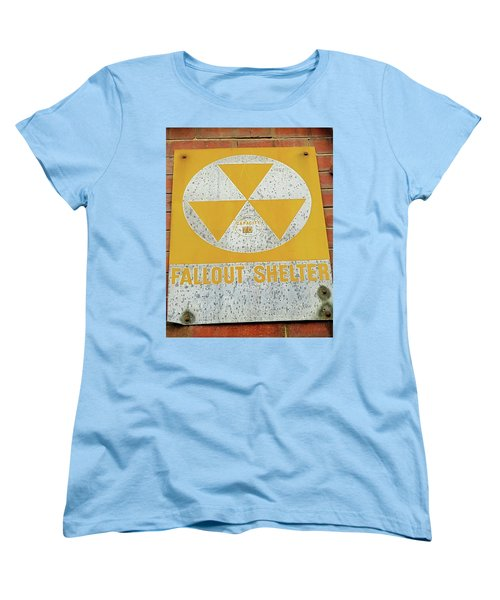 Women's T-Shirt (Standard Cut) featuring the photograph Capacity 70 by Bruce Carpenter