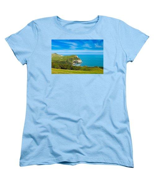Cape Farewell Able Tasman National Park Women's T-Shirt (Standard Cut) by Ulrich Schade