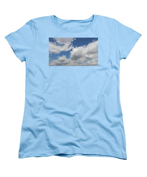 Women's T-Shirt (Standard Cut) featuring the photograph Clouds 16 by Rod Ismay