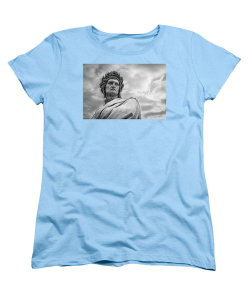 Dante Alighieri Women's T-Shirt (Standard Cut) by Sonny Marcyan