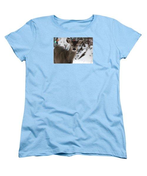 Deer Women's T-Shirt (Standard Cut) by Irina Hays