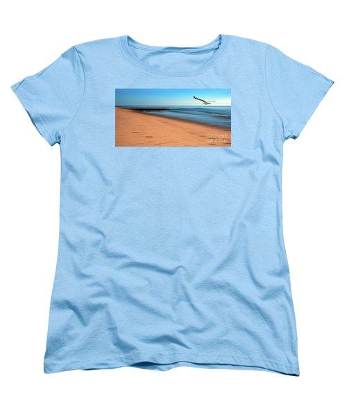 Women's T-Shirt (Standard Cut) featuring the photograph Desire Light  by Hannes Cmarits