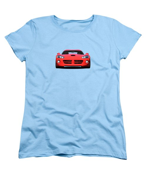 Dodge Viper Women's T-Shirt (Standard Cut) by Mark Rogan