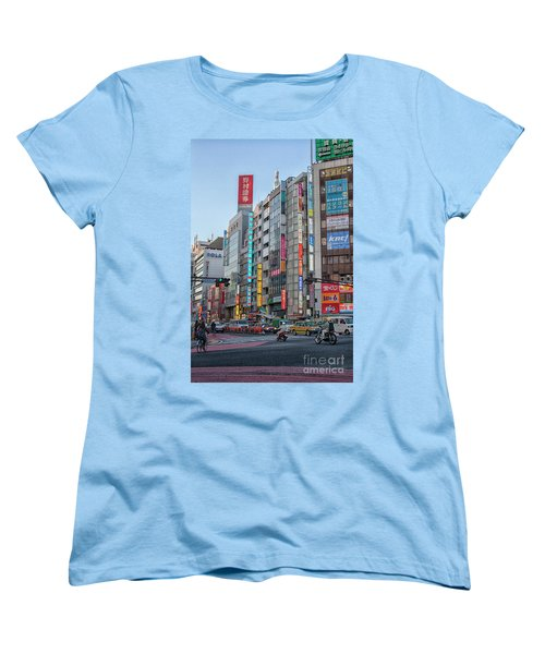 Downtown Tokyo Women's T-Shirt (Standard Cut) by Patricia Hofmeester