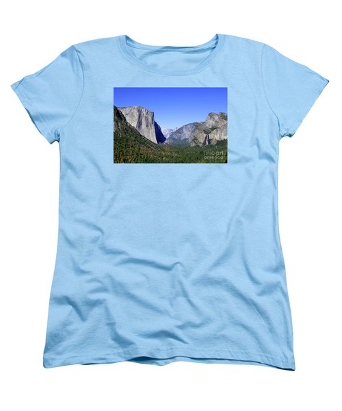 Women's T-Shirt (Standard Cut) featuring the photograph El Capitan by Joseph G Holland