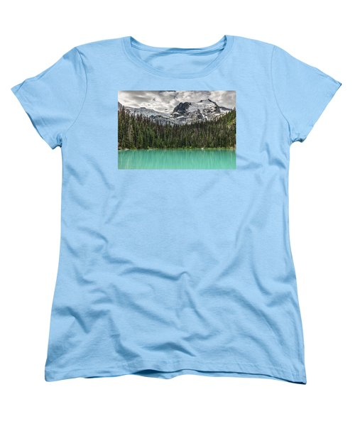 Women's T-Shirt (Standard Cut) featuring the photograph Emerald Reflection by Pierre Leclerc Photography