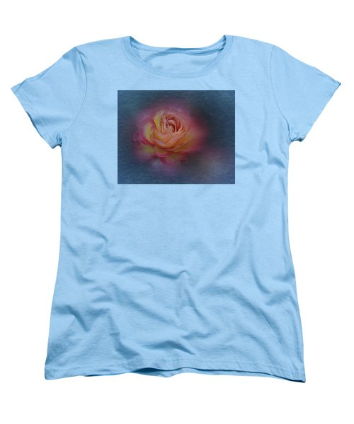 End Of September 2016 Rose Women's T-Shirt (Standard Cut) by Richard Cummings