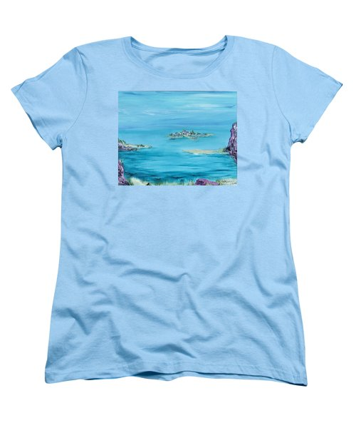 Ethereal Women's T-Shirt (Standard Cut) by Regina Valluzzi