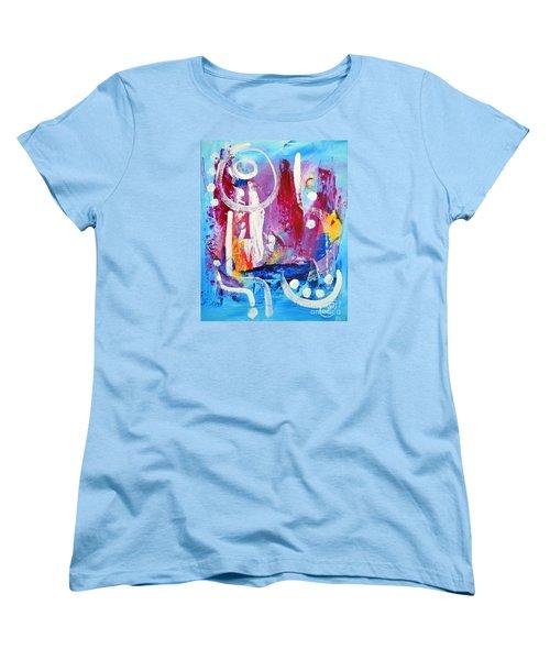 Euphoria Women's T-Shirt (Standard Cut) by Lynda Cookson