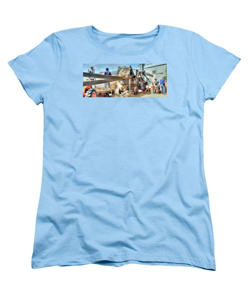 Filling The Sack 3485 Women's T-Shirt (Standard Cut) by Jerry Sodorff