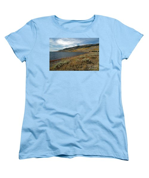 Fish Lake Ut Women's T-Shirt (Standard Cut) by Cindy Murphy - NightVisions