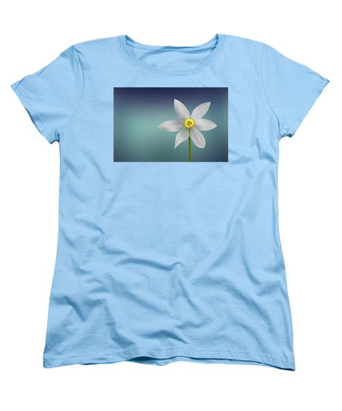 Flower Paradise Women's T-Shirt (Standard Cut) by Bess Hamiti