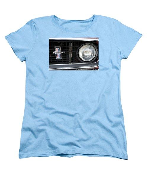 Ford Mustang   Women's T-Shirt (Standard Cut) by Pamela Walrath