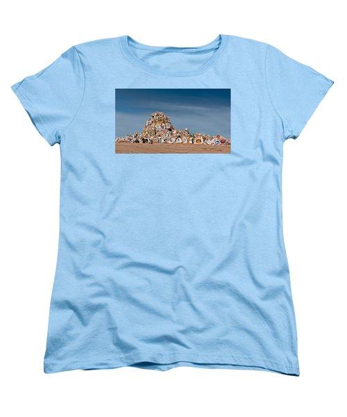 Fort Irwin Women's T-Shirt (Standard Cut) by Jim Thompson