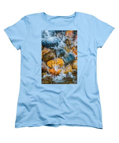Women's T-Shirt (Standard Cut) featuring the photograph Fresh Water by Alexander Senin