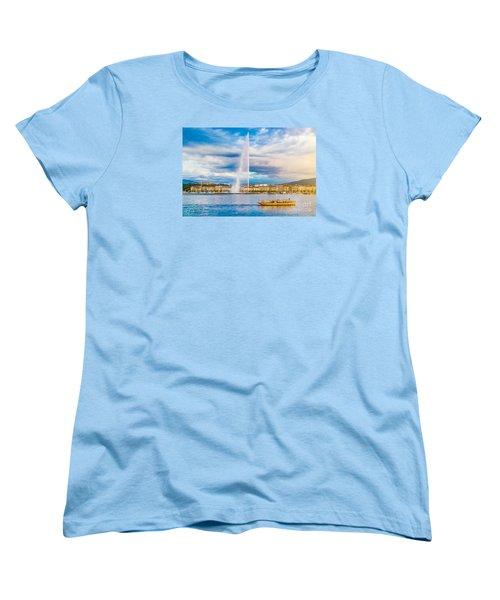 Geneva Women's T-Shirt (Standard Cut) by JR Photography