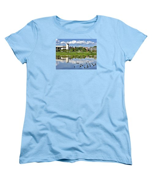 George Mason University Women's T-Shirt (Standard Cut) by Brendan Reals