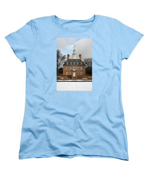 Governors Palace Women's T-Shirt (Standard Cut) by Sally Weigand