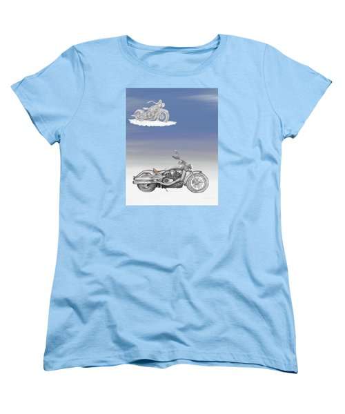 Women's T-Shirt (Standard Cut) featuring the drawing Grandson by Terry Frederick
